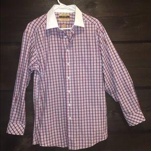 Men's Roundtree no iron dress shirt
